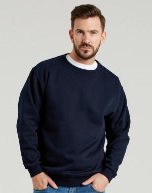 Universalus storas džemperis su įsiūtomis rankovėmis