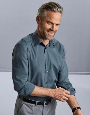 Tailored Poplin Shirt LS. Vyriški marškiniai