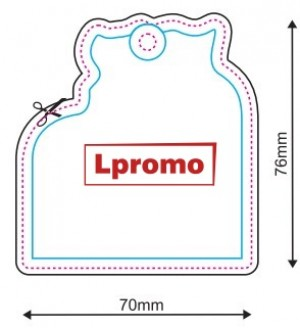 Auto kvapai su logotipu, forma lpf701