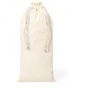 Medvilninis butelių tempimo krepšys