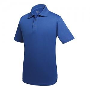 Mėlynos spalvos Polo marškinėliai