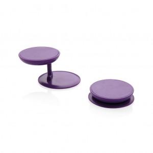 Stick 'n Hold telefono stovasą, violetinės spalvos