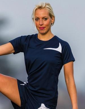Moteriški treniruočių marškinėliai