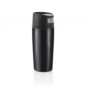 Auto leak proof puodelis, juodos spalvos