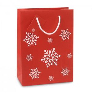 Vidutinio dydžio popierinis dovanų maišelis