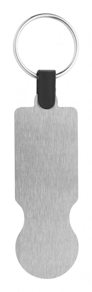 Verslo dovanos SteelCart (trolley coin keyring)