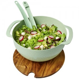 Ekologiškas salotų serviravimo indas