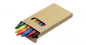 6 vnt spalvoti pieštukai Picta
