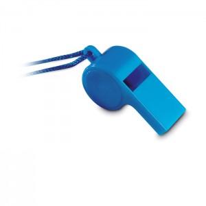 Švilpukas su apsaugine virvute ant kaklo