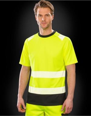 Drabužiai reklamai (Recycled Safety T-Shirt)