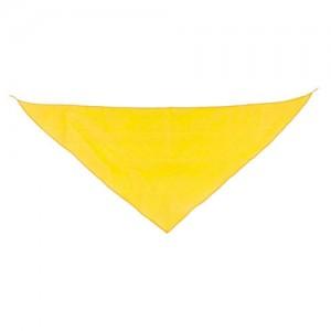 Geltona trikampė skarelė