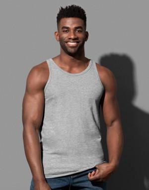 Vyriški marškinėliai be rankovių