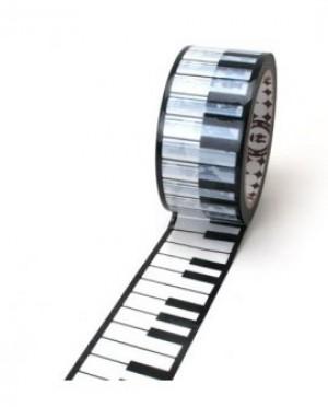 Acrylic lipni juosta su logotipu, acrylic 45mmx60m nuo 1440 vnt.