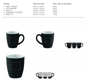 Keramikinis puodelis 300 ml